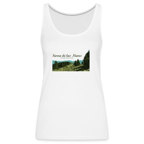 Sierra de las Nieves Parque Nacional - Camiseta de tirantes premium mujer