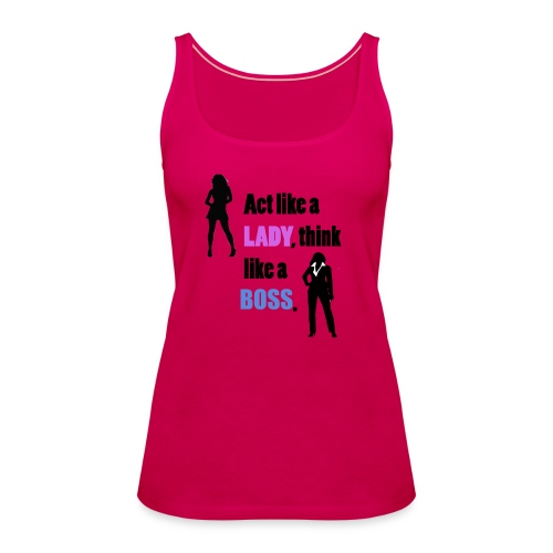 Women get success - Frauen Premium Tank Top