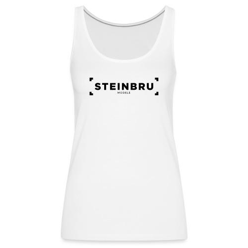 Steinbru Models - Sort - Premium singlet for kvinner