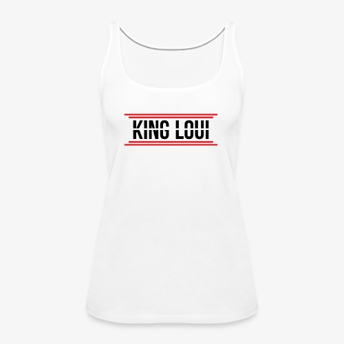 Kingloui Logo - Frauen Premium Tank Top