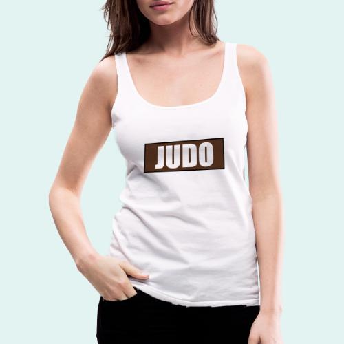 Judo Braun 1. Kyu - Frauen Premium Tank Top