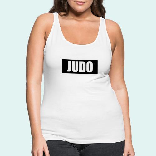 Judo Schwarz DAN - Frauen Premium Tank Top