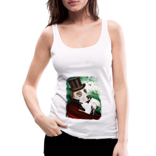 Gothic Dog #3 - Canotta premium da donna