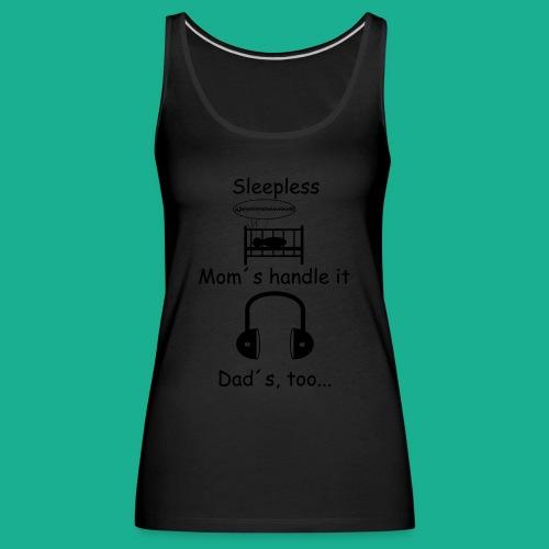 Sleepless - Frauen Premium Tank Top