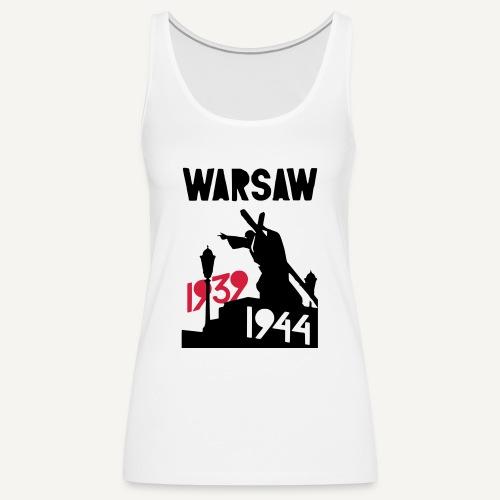 Warsaw 1939-1944 - Tank top damski Premium