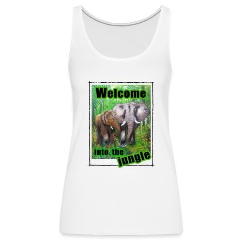 Willkommen im Dschungel - Frauen Premium Tank Top