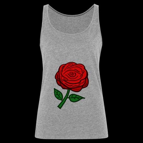 Rote Rose - Frauen Premium Tank Top