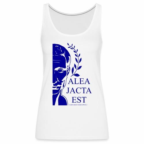 ALEA JACTA EST azulgigante - Camiseta de tirantes premium mujer