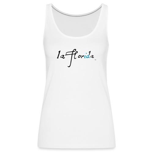 logo laflorida - Camiseta de tirantes premium mujer