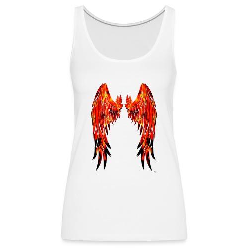 Fire wings - Camiseta de tirantes premium mujer