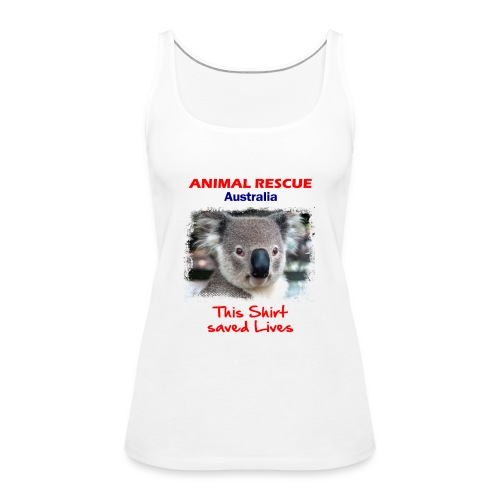 Australien KOALA RESCUE - Spendenaktion - Frauen Premium Tank Top