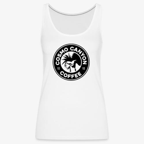 Cosmo Canyon Coffee - Camiseta de tirantes premium mujer