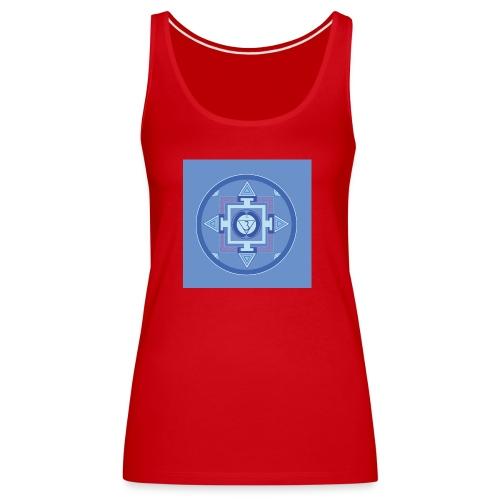 Ajna - Third Eye Chakra - Naisten premium hihaton toppi