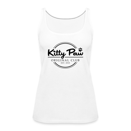 Kitty Paw Club - Dame Premium tanktop