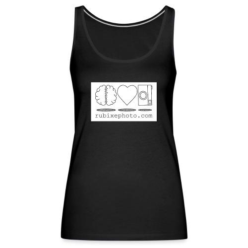 Rubixephoto - Camiseta de tirantes premium mujer