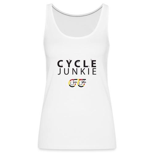 Cycle Junkie San Seba - Vrouwen Premium tank top