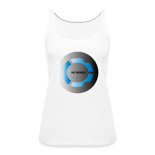 MY WORLD - Camiseta de tirantes premium mujer