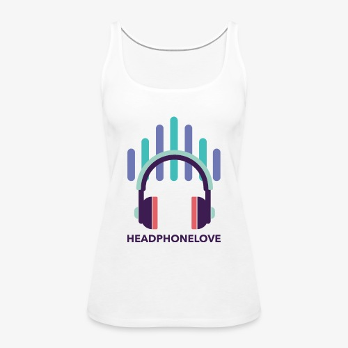 headphonelove - Frauen Premium Tank Top