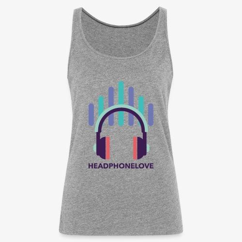 headphonelove - Frauen Premium Tank Top