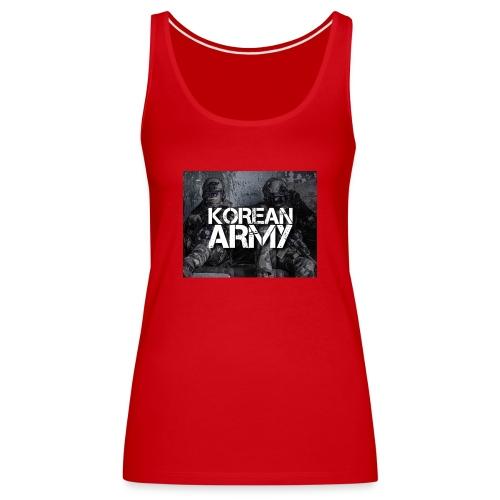 korean army - Women's Premium Tank Top