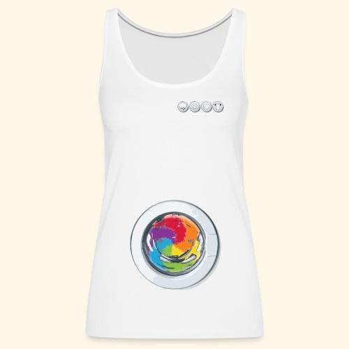 Rainbow Laundry-Unisex - Women's Premium Tank Top