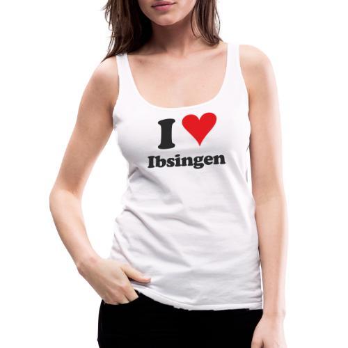 I Love Ibsingen - Frauen Premium Tank Top