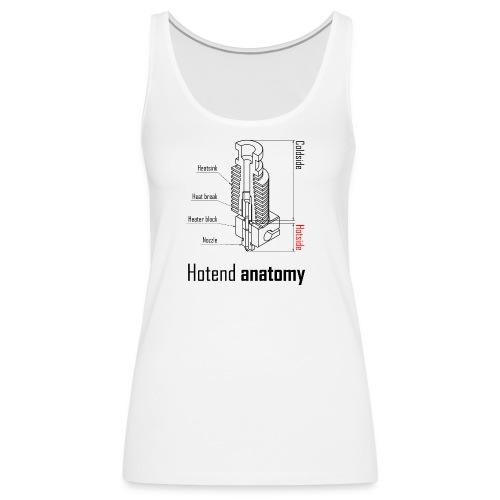 Hotend anatomy - Women's Premium Tank Top