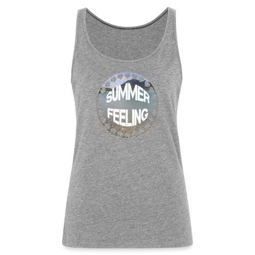 LIMITED SUMMER FEELING Schriftzug - Frauen Premium Tank Top