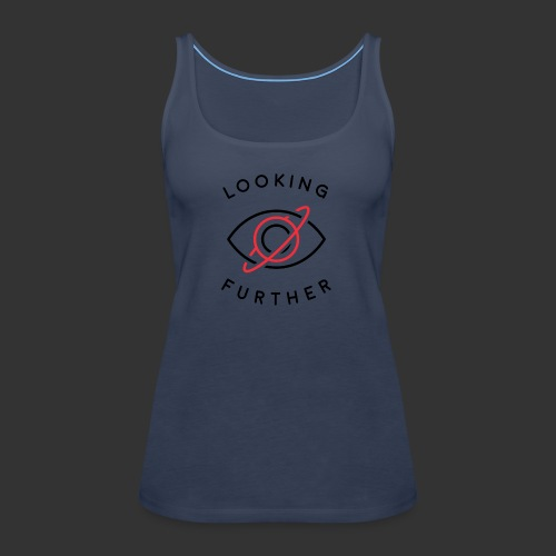 Looking Farther - White - Women's Premium Tank Top