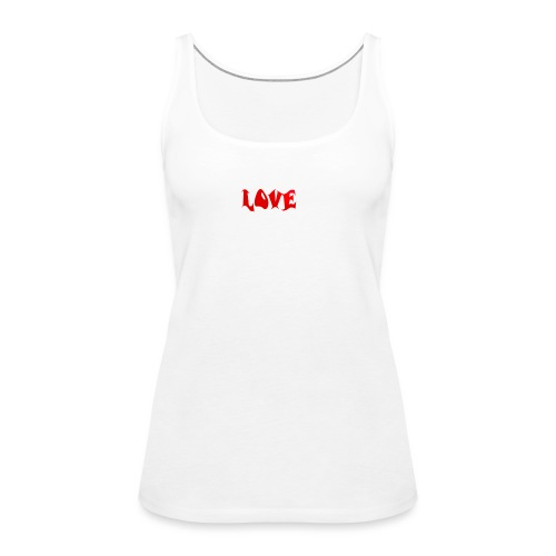 LOVE - Frauen Premium Tank Top