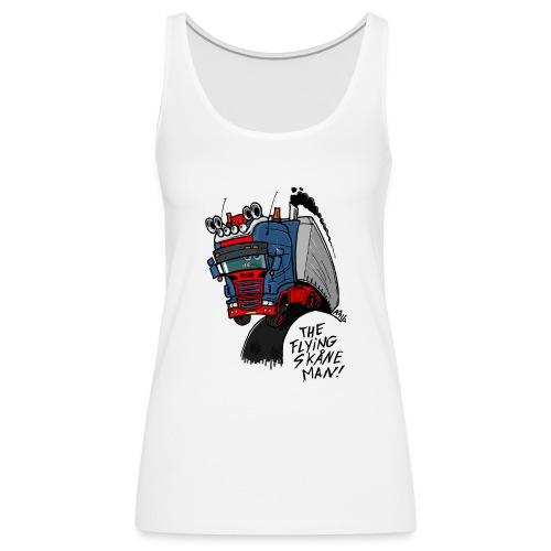 The flying skane man - Vrouwen Premium tank top