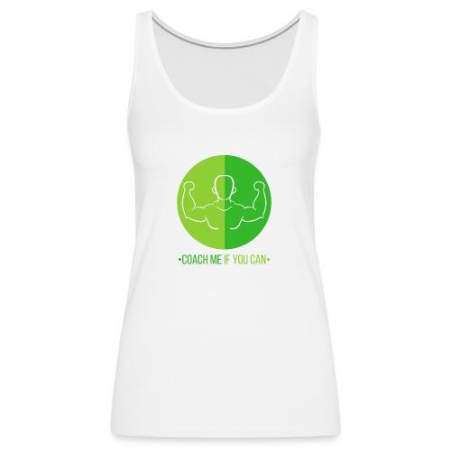Muscle Vert - Débardeur Premium Femme