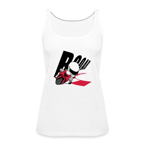 MOTO GP ROAR - Frauen Premium Tank Top