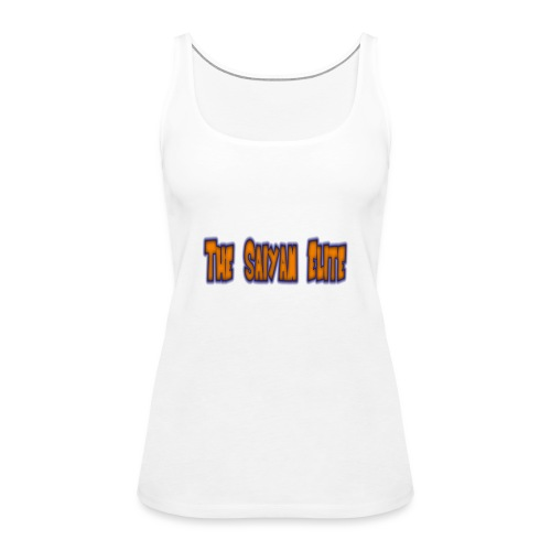 the saiyan elite design 1 - Women's Premium Tank Top