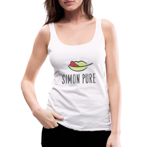 Simon Pure ❤ - Frauen Premium Tank Top