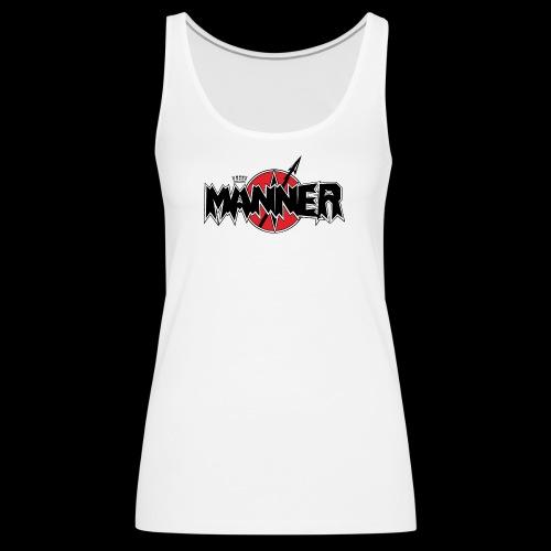 Maenner Logo mit schwarzer Krone - Frauen Premium Tank Top