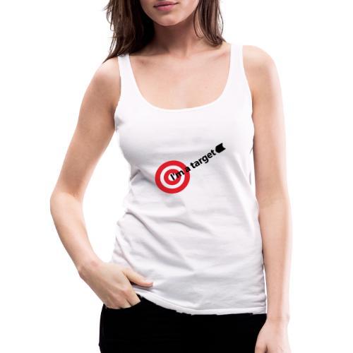 Im the target - Camiseta de tirantes premium mujer