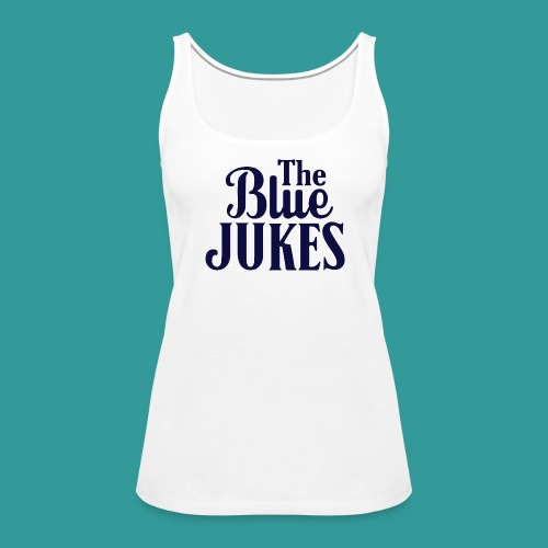 The Blue Jukes Logo - Women's Premium Tank Top