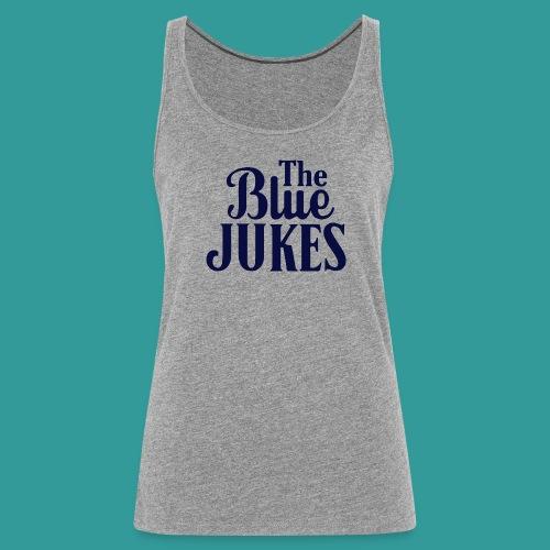 The Blue Jukes Logo - Women's Premium Tank Top