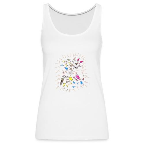Momento. - Camiseta de tirantes premium mujer