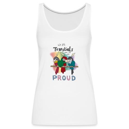 Transtiels and Proud - Women's Premium Tank Top