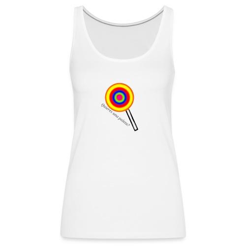 Paleta - Camiseta de tirantes premium mujer