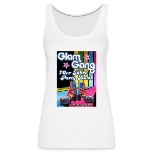 Glam Gang 70's Party Band - Frauen Premium Tank Top