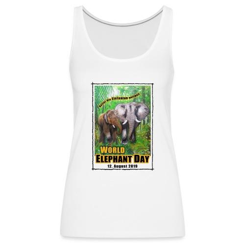 Welt-Elefanten-Tag 12. August 2019 - Frauen Premium Tank Top