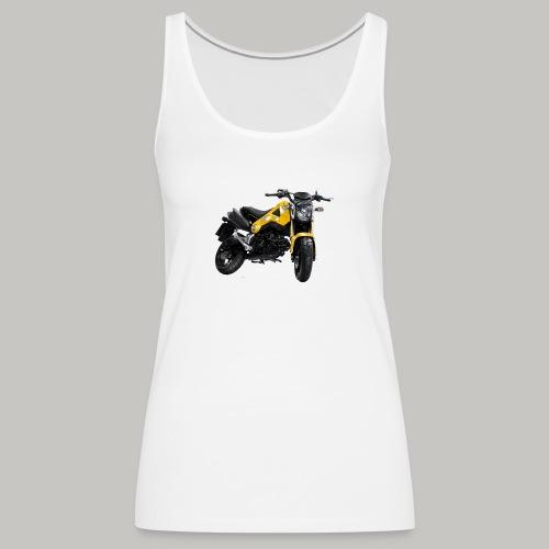 Grom Motorcycle (Monkey Bike) - Women's Premium Tank Top