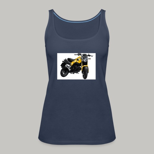 Grom Motorcycle (Monkey Bike) - Women's Premium Tank Top