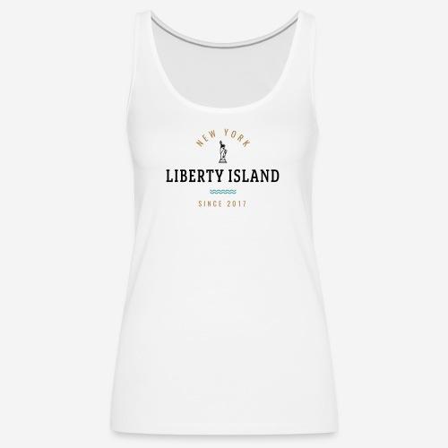 NEW YORK - LIBERTY ISLAND - Canotta premium da donna