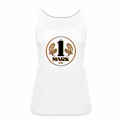Ostmark 3D black red gold - Women's Premium Tank Top