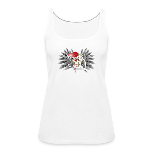 Love, Peace and Hope - Liebe, Frieden, Hoffnung - Frauen Premium Tank Top