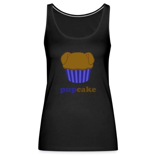 pupcake blauw - Vrouwen Premium tank top